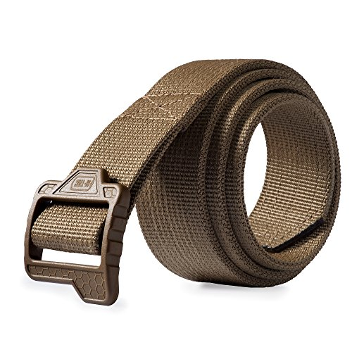 M-Tac Tactical Belt Double Duty Military Gun Carry (Coyote Hexagon, XL (42-44))