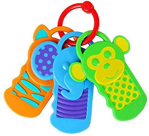 Bling Children Infant and Baby Baby Key Brand Dental gelator Does not Contain bpa ()