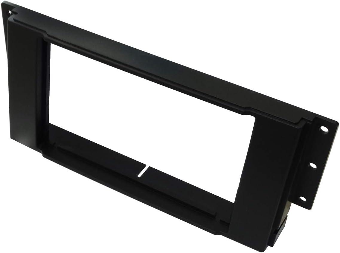 Black . 2 Din Car Radio Fascia Frame Reducer Adaptor Aerzetix