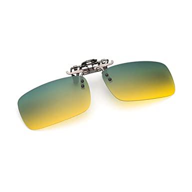 Gafas de sol unisex clip on gafas polarizados visión ...