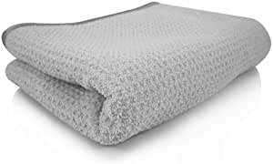 """3X Waffle Weave Thirsty Microfiber Deluxe Drying Towel Auto Home Kitchen 16 x24/"""""""