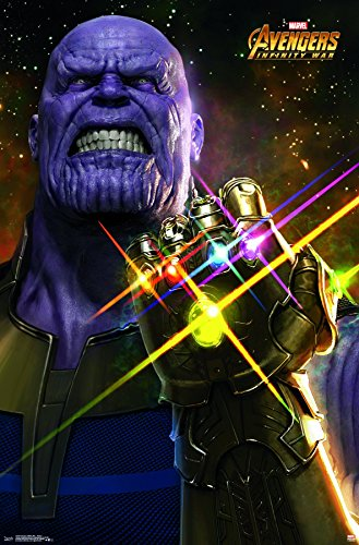 Trends International Avengers Infinity War Thanos Wall Poste