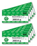 Sigel GN110Number Ticket Book 1000Bons (Numbered 1–100010,5x5cm No Colour Choice)