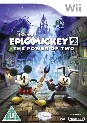 Disney Epic Mickey The Power Of 2 Nintendo Wii Game for sale  Delivered anywhere in Canada