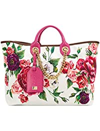 Women's Bb6572au721har40 Pink Cotton Handbag