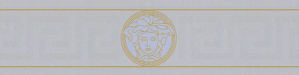 Versace Bordure–Matériau: vinyle sur Matériau non tissé–Couleur: Argenté, or–Article N ° 1504–2885 or-Article N ° 1504-2885 n.a.
