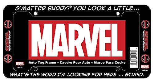 CHROMA 42523 Black Deadpool S'Matter Buddy? Plastic Frame