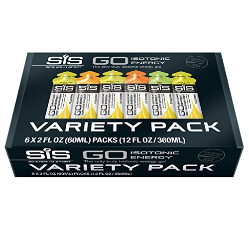 Science in Sport Energy Gel, Variety Flavors, 2 Oz. (6 Pack)