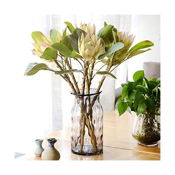 dezirZJjx-Artificial-Flowers-1Pc-King-Protea-Artificial-Flower-Fake-Plant-DIY-Wedding-Bouquet-Party-Decor-Beige