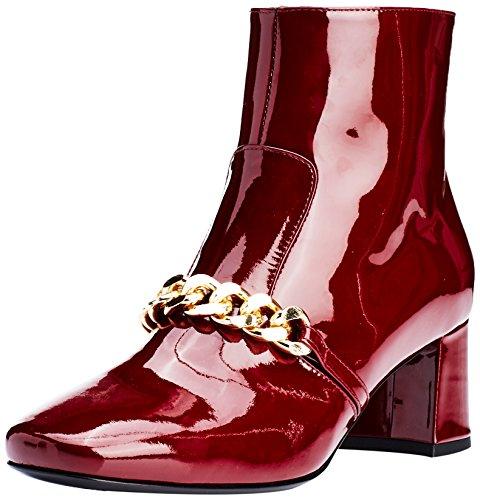 Marc Cain Fb Sb.12 L62, Zapatillas de Estar por Casa para Mujer Rojo