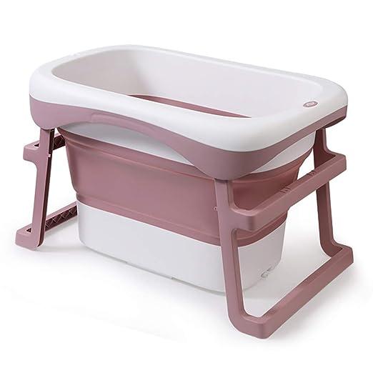 Bañera Plegable para bebés, Niños Hogar Portátil Bañera ...
