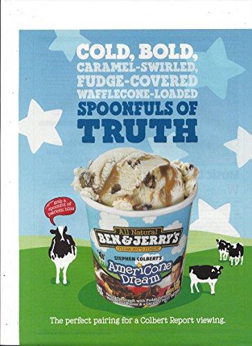 print-ad-for-2009-ben-jerrys-stephen-colbert-americone-dream-ice-cream
