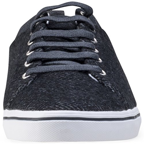 Fred Perry Hallam Herringbone Twill Herren Sneakers