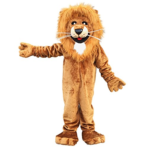 Lion Mascot Costume Cartoon Character Adult Sz Langteng