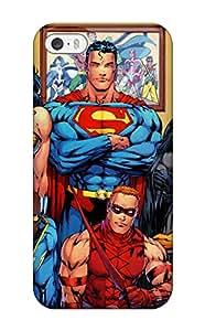 Best Unique Design Iphone 5/5s Durable Tpu Case Cover Justice League 2263123K43639775