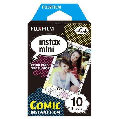Fujifilm Instax Mini Comic Instant Film (Multi-Color)
