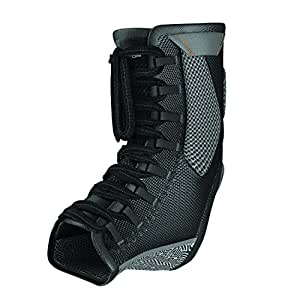 Shock Doctor Ultra Gel Lace Ankle Brace Supporter, Black, X-Small