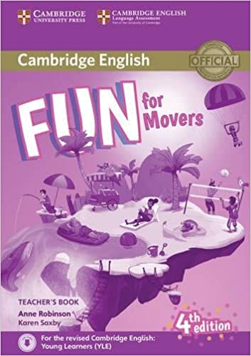 amazon com fun for movers teacher s book with downloadable audio
