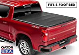 Gator ETX Soft Tri-Fold Truck Bed Tonneau Cover | 59107 | 2004 - 2012 Canyon/Colorado 5' bed | MADE IN THE USA