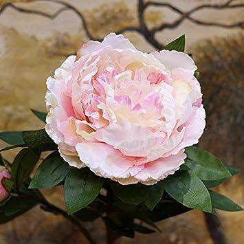 Amazon.com: Artificial Flowers Mudan emulation flower living room ...