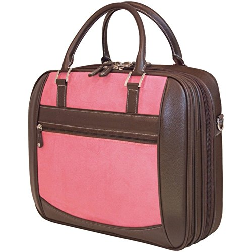 Edge Briefcase Notebook (Mobile Edge MESFEBX 16 Notebook Briefcase Pink Suede W/ScanFast Element Electronics Computers Accessories)