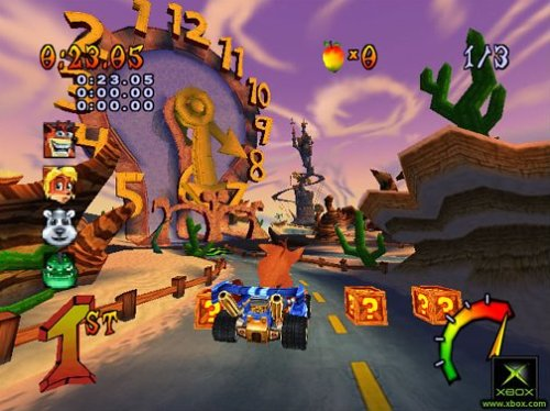 Crash Bandicoot: Nitro Kart