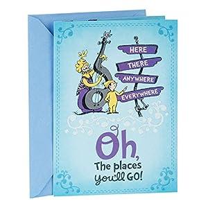 Hallmark Dr. Seuss Graduation Card (Oh, The Places You'll Go)