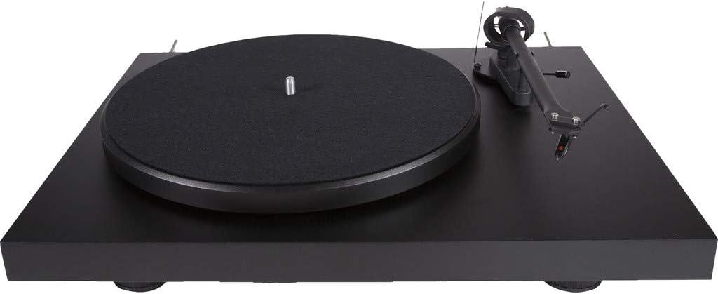 Pro-Ject Debut III - Tocadiscos (Corriente alterna, 100-110, 220-240V, 50/60 Hz, Negro, 415 x 320 x 118 mm, 415 x 405 x 365 mm)