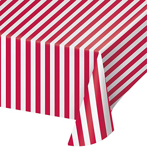 (Banquet Table Cover,  Circus Time Plastic)
