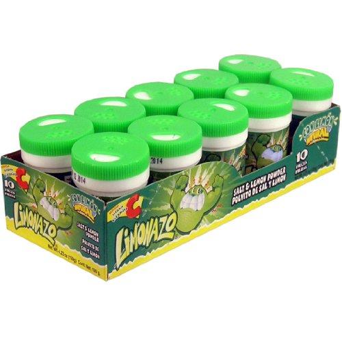 Limonazo Salt and Lemon Powder Mini Shaker - 10 Ct. Case