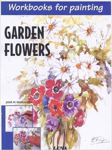 Los mejores libros para descargar en ipad Garden Flowers: Workbooks for Painting iBook