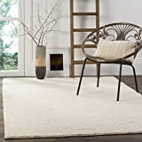 Safavieh NAT620A-8 Natura Collection Area Rug, 8' x 10', Ivory