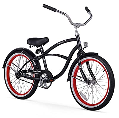 Firmstrong Urban Boy Single Speed Beach Cruiser Bicycle