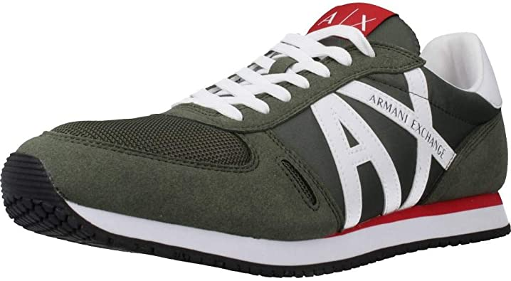 Armani Exchange Retro Running Sneaker, Zapatillas Deportivas ...