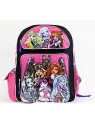 Backpack - Monster High - Silver Castle Large School Bag New 096582