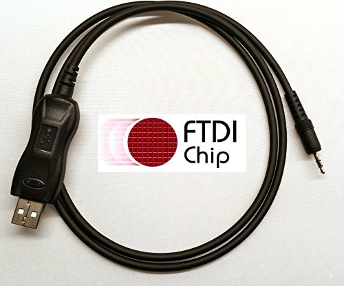 BlueMax49ers FTDI USB Programming Cable Alinco DX-SR8 DX-SR8