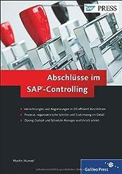 Abschlüsse im SAP-Controlling (SAP PRESS)