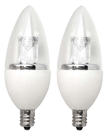 Tcp 40 watt equivalent led decorative chandelier light bulbs small tcp 40 watt equivalent led decorative chandelier light bulbs small candelabra base dimmable aloadofball Images