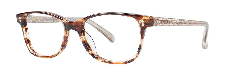 VERA WANG Eyeglasses V376 Horn 49MM