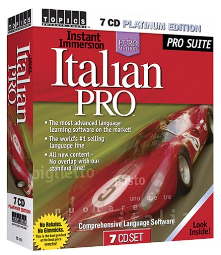 Instant Immersion Italian Pro 7 CD Platinum (Italian Platinum Cd compare prices)
