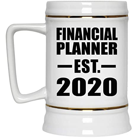 Best Beers 2020 Amazon.| Financial Planner Established EST. 2020 22oz Beer