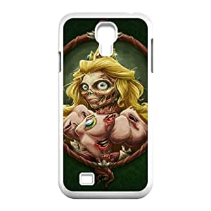 Jumphigh Zombies Samsung Galaxy S4 Cases Zombified Princess Peach for Women, Phone Case for Samsung Galaxy S4 I9500, {White}