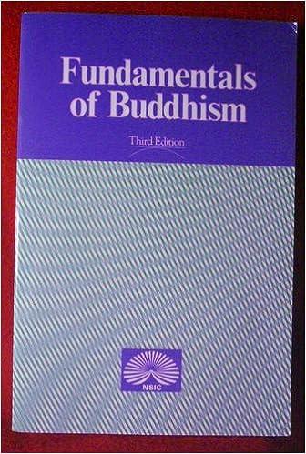 Book Fundamentals of Buddhism, 3rd Edition