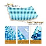 LEASEN Picnic Blanket Extra Large, Foldable Picnic