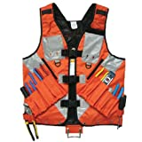 Edxtech Tool Vest Storage Compartments Electrician Carpenter Plumber Construction Pouch