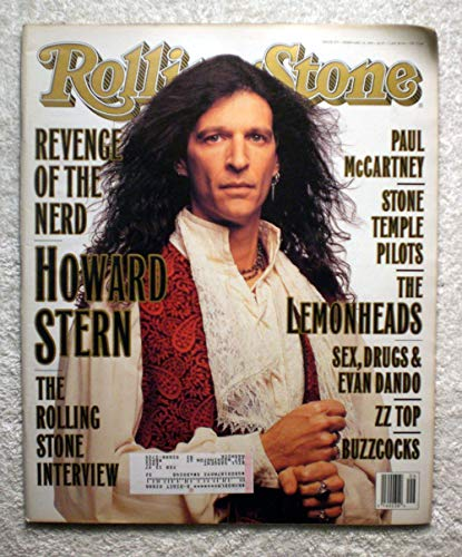 Howard Stern - The Rolling Stone Interview - Rolling Stone Magazine - #675 - February 10, 1994 - Stone Temple Pilots, The Lemonheads articles