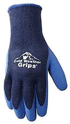 Men's Cold Weather Work Gloves, Navy Blue