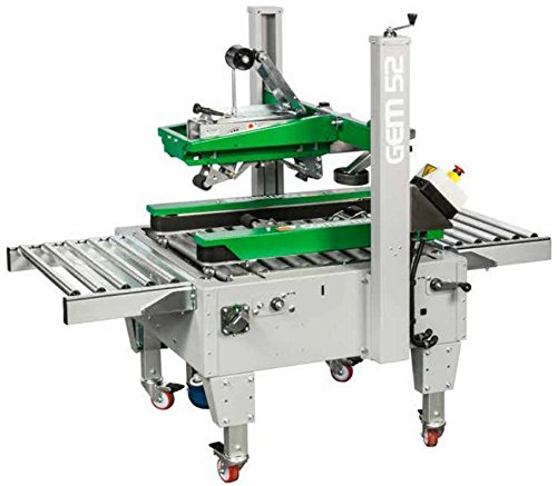 Comarme Gemini GEM-52 Case Sealing Machine for Taping Boxes or Cartons