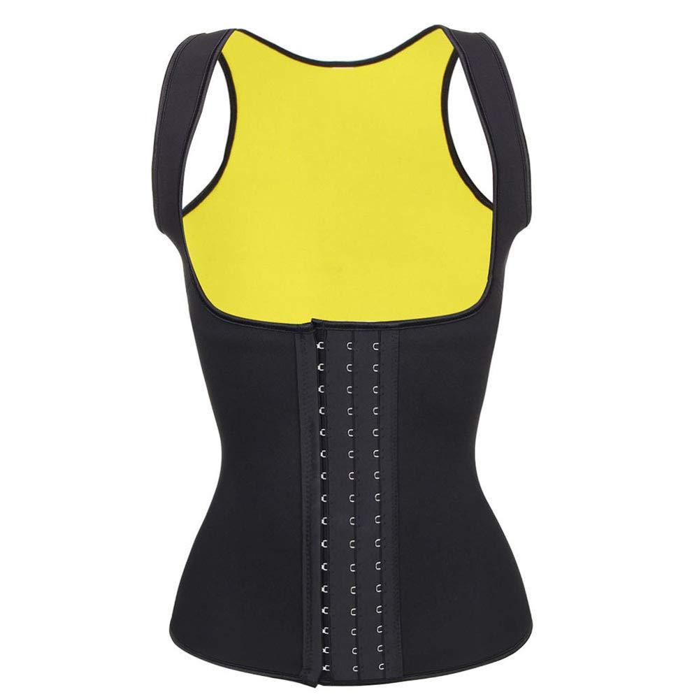 Litthing Women Waist Trainer Neoprene Corset Sweat Vest Weight Loss Body Shaper Tummy Control