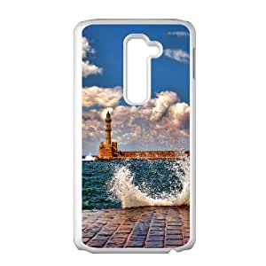 Lighthouse LG G2 Cell Phone Case White MS4615205